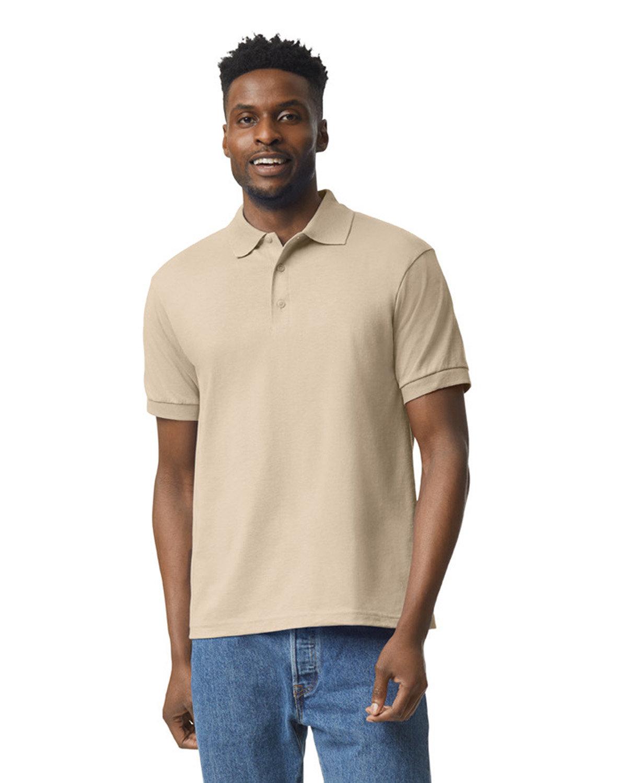 Gildan Adult 50/50 Jersey Polo SAND