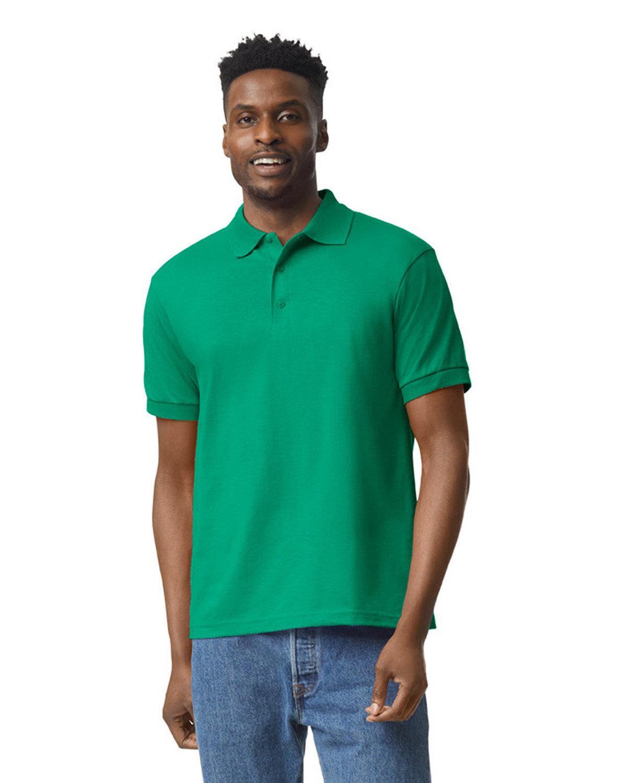 Gildan Adult 50/50 Jersey Polo KELLY GREEN