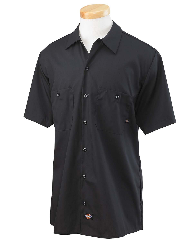 Dickies Men's 4.25 oz. Industrial Long-Sleeve Work Shirt CHARCOAL