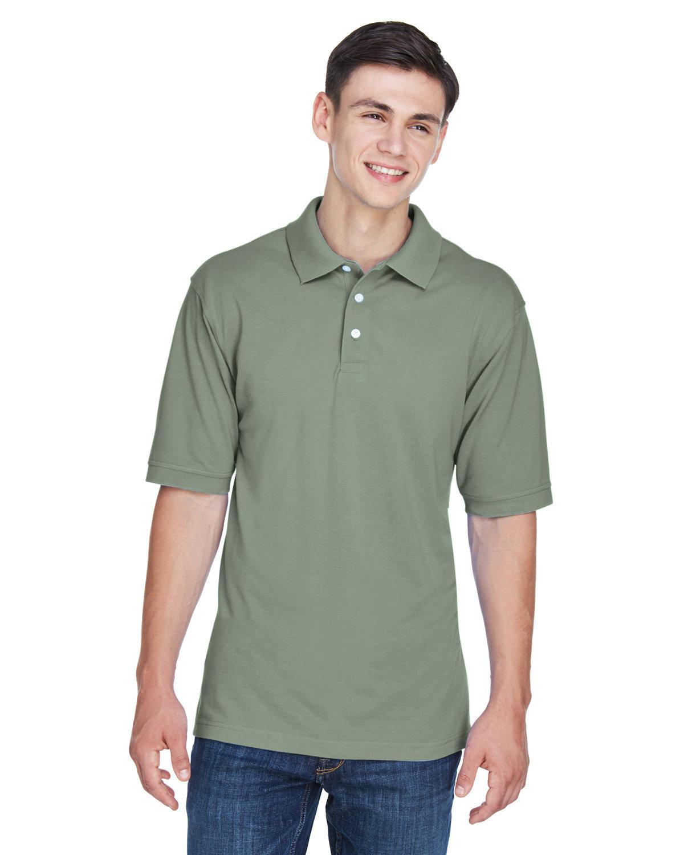 Harriton Men's 5.6 oz. Easy Blend™ Polo DILL
