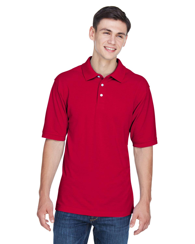 Harriton Men's Tall 5.6 oz. Easy Blend™ Polo RED
