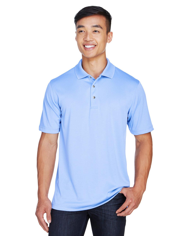 Harriton Men's Advantage Snag Protection Plus IL Snap Placket Polo INDUSTRY BLUE