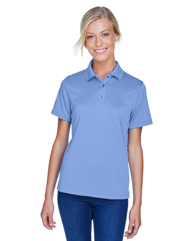 Harriton Ladies' Advantage Snag Protection Plus IL Snap Placket Polo INDUSTRY BLUE