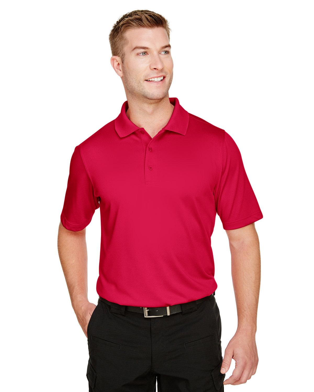 Harriton Men's Tall Advantage Snag Protection Plus IL Polo RED