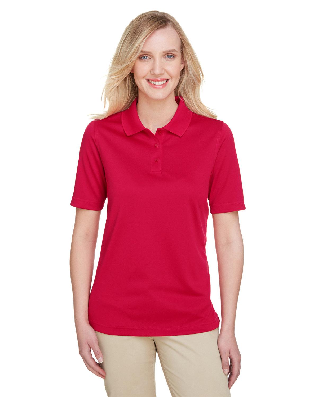 Harriton Ladies' Advantage Snag Protection Plus IL Polo RED