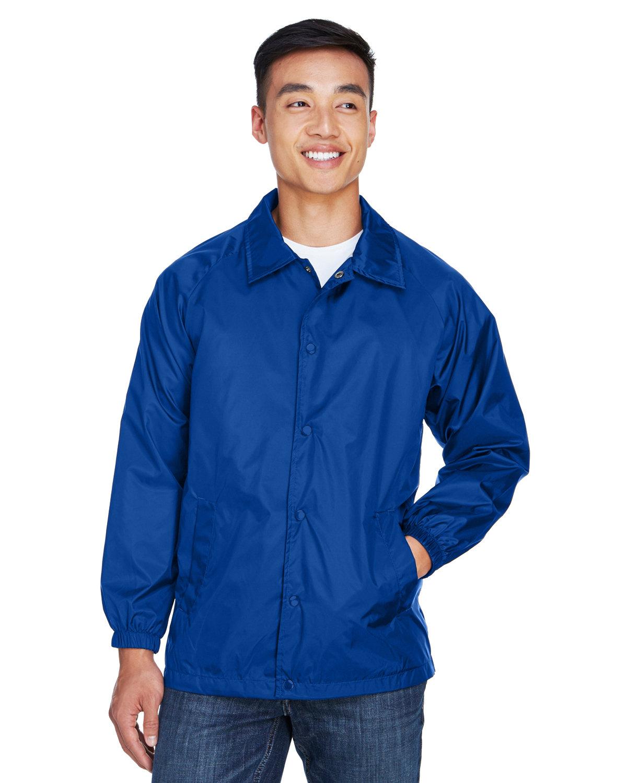 Harriton Adult Nylon Staff Jacket TRUE ROYAL