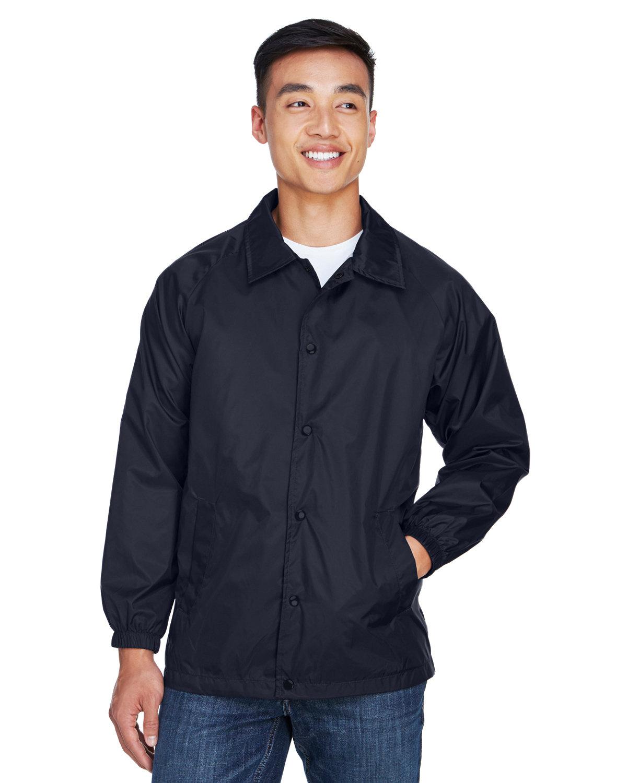 Harriton Adult Nylon Staff Jacket NAVY