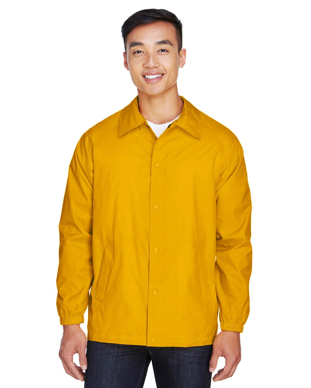 Harriton Adult Nylon Staff Jacket SUNRAY YELLOW