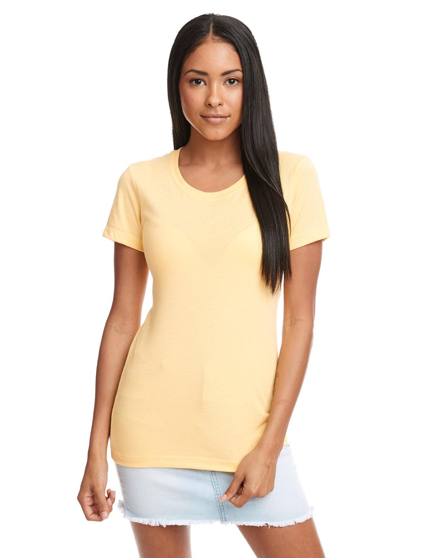 Next Level Ladies' Ideal T-Shirt BANANA CREAM