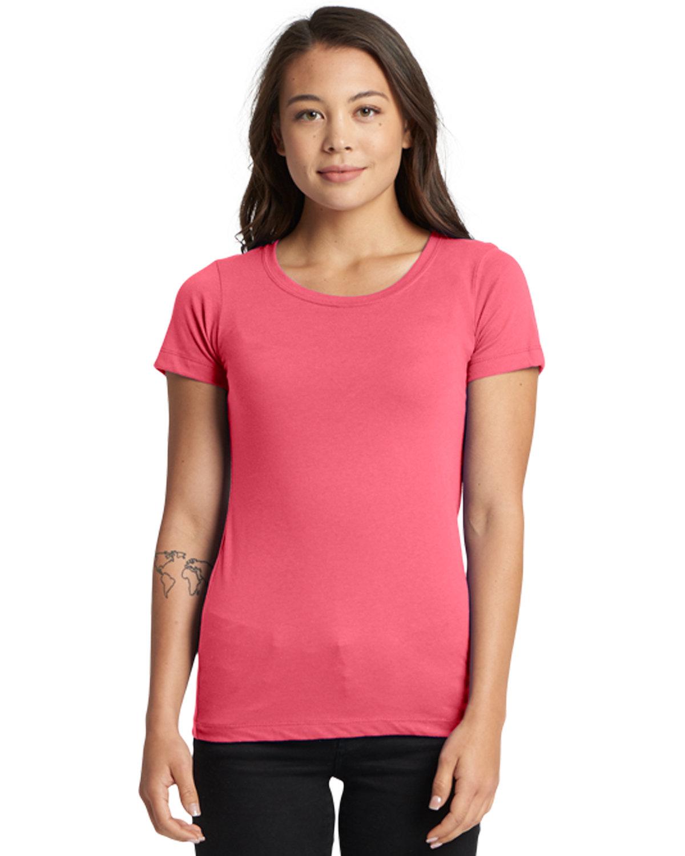 Next Level Ladies' Ideal T-Shirt HOT PINK