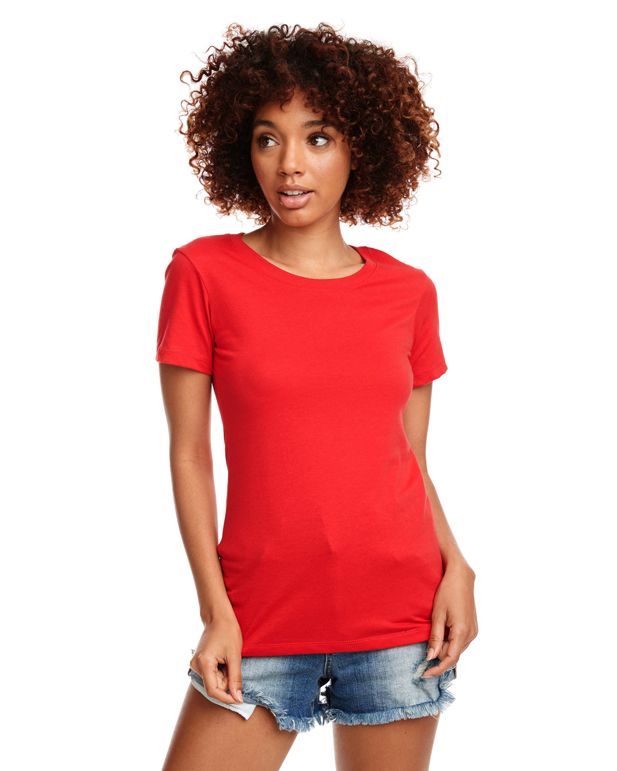 Next Level Ladies' Ideal T-Shirt RED