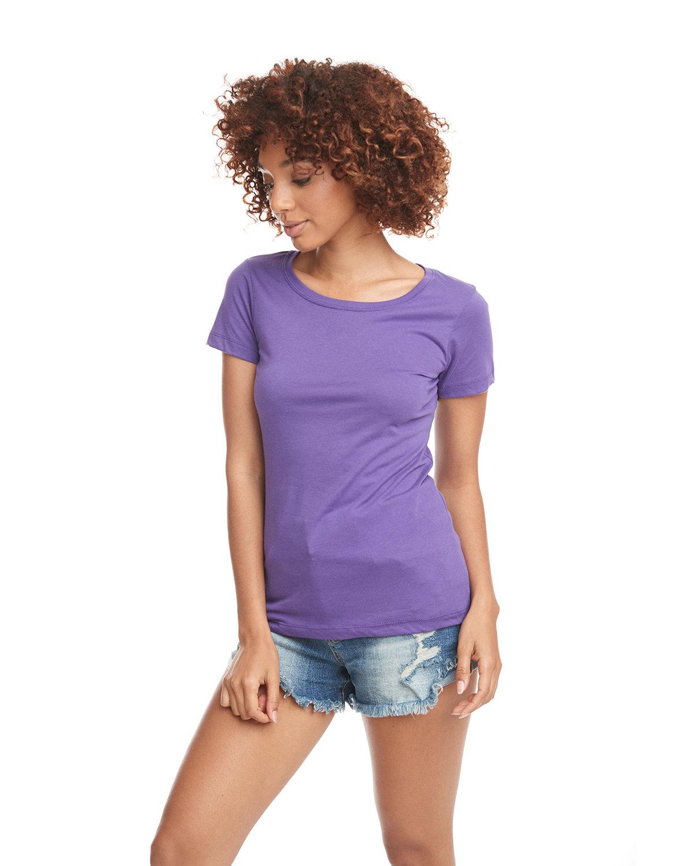 Next Level Ladies' Ideal T-Shirt PURPLE RUSH