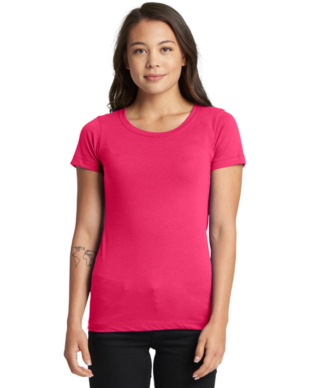 Next Level Ladies' Ideal T-Shirt RASPBERRY