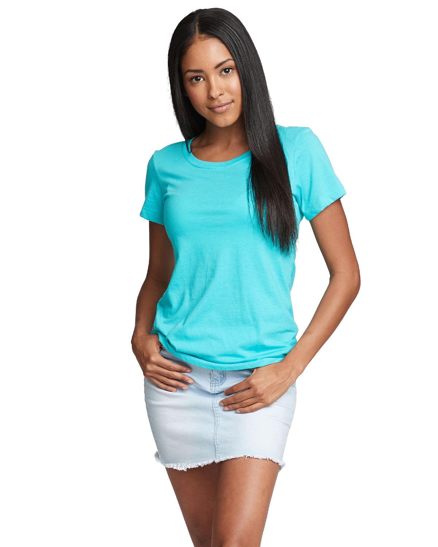 Next Level Ladies' Ideal T-Shirt TAHITI BLUE