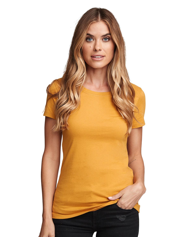 Next Level Ladies' Ideal T-Shirt ANTIQUE GOLD