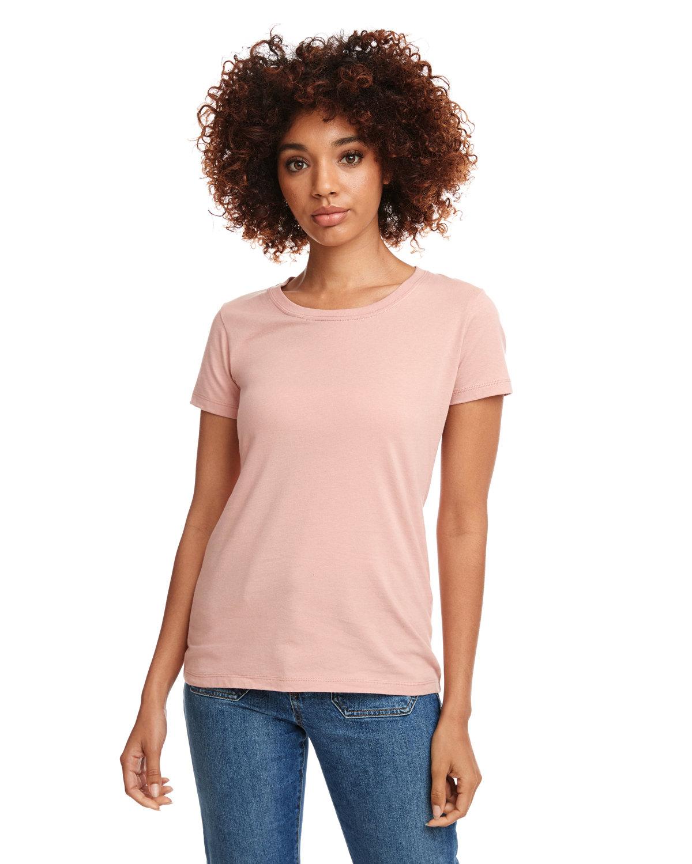 Next Level Ladies' Ideal T-Shirt DESERT PINK