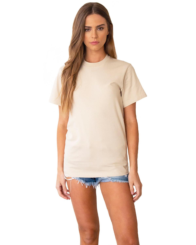 Next Level Unisex Ideal Heavyweight Cotton Crewneck T-Shirt NATURAL