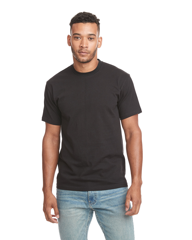 Next Level Unisex Ideal Heavyweight Cotton Crewneck T-Shirt BLACK