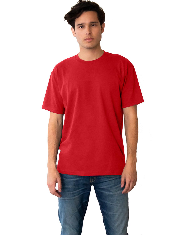 Next Level Unisex Ideal Heavyweight Cotton Crewneck T-Shirt RED
