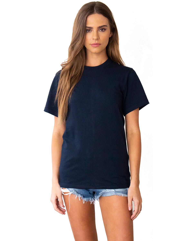 Next Level Unisex Ideal Heavyweight Cotton Crewneck T-Shirt MIDNIGHT NAVY