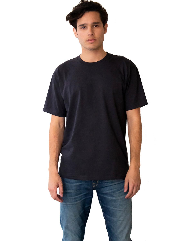 Next Level Unisex Ideal Heavyweight Cotton Crewneck T-Shirt GRAPHITE BLACK