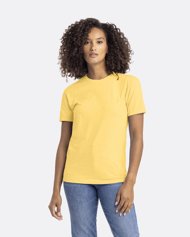 Next Level Unisex CVC Crewneck T-Shirt BANANA CREAM
