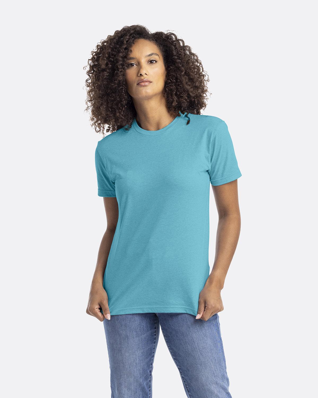 Next Level Unisex CVC Crewneck T-Shirt BONDI BLUE
