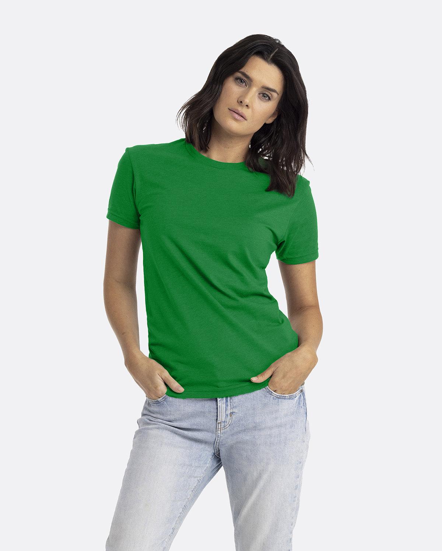 Next Level Unisex CVC Crewneck T-Shirt KELLY GREEN