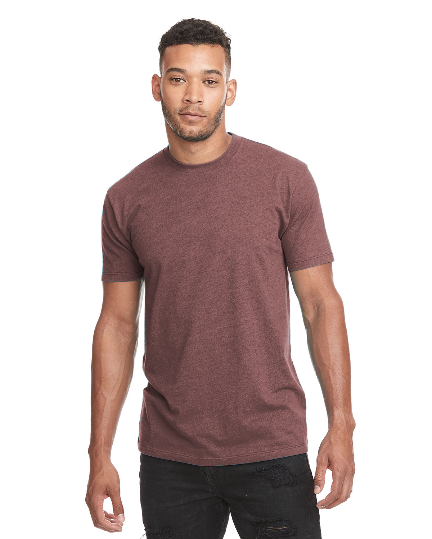 Next Level Unisex CVC Crewneck T-Shirt HEATHER MAROON