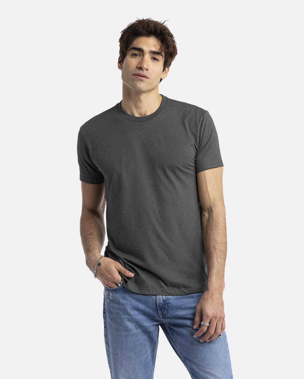 Next Level Unisex CVC Crewneck T-Shirt HTHR HEAVY METAL