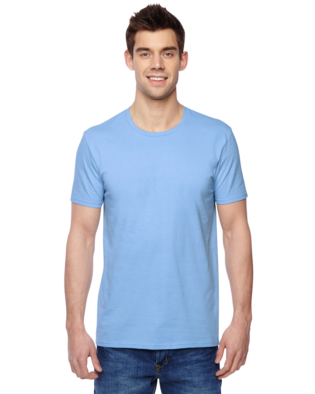 Fruit of the Loom Adult Sofspun® Jersey Crew T-Shirt LIGHT BLUE