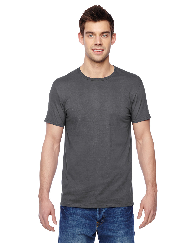 Fruit of the Loom Adult Sofspun® Jersey Crew T-Shirt CHARCOAL GREY