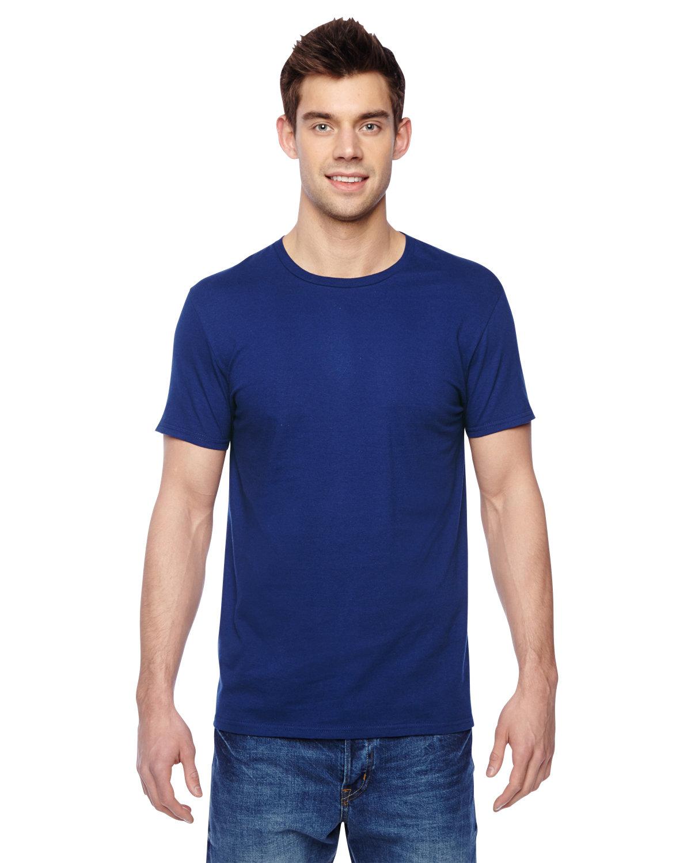 Fruit of the Loom Adult Sofspun® Jersey Crew T-Shirt ADMIRAL BLUE