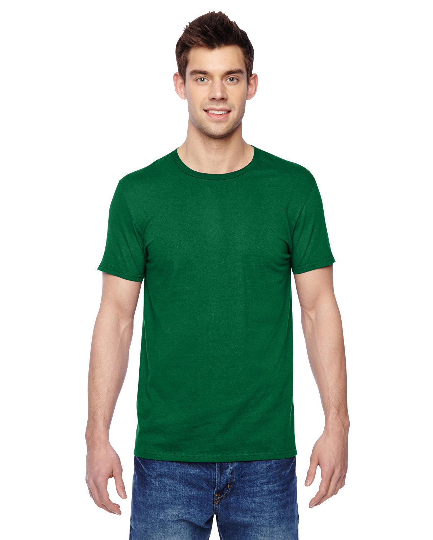 Fruit of the Loom Adult Sofspun® Jersey Crew T-Shirt CLOVER