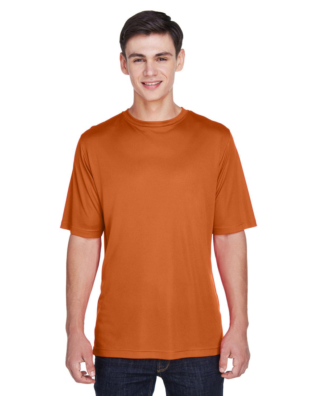 Team 365 Men's Zone Performance T-Shirt SPRT BRNT ORANGE
