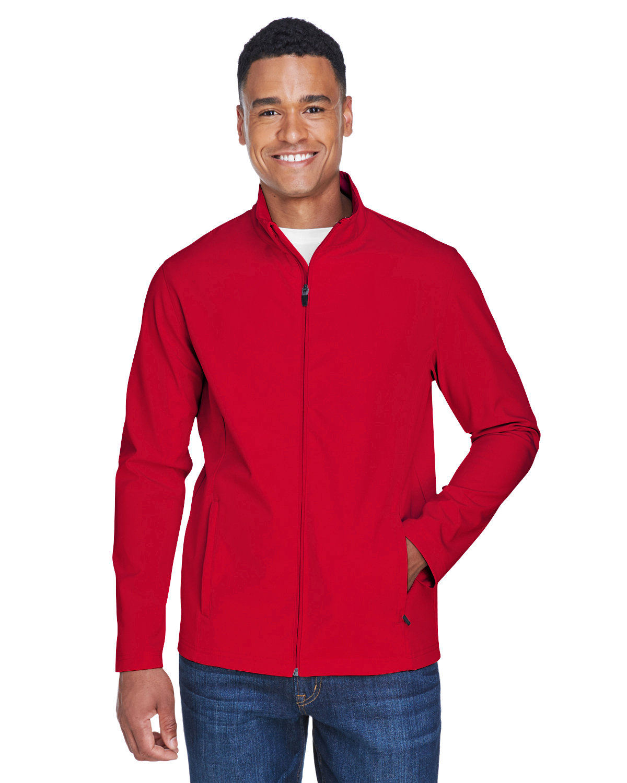Team 365 Men's Leader Soft Shell Jacket SPORT RED
