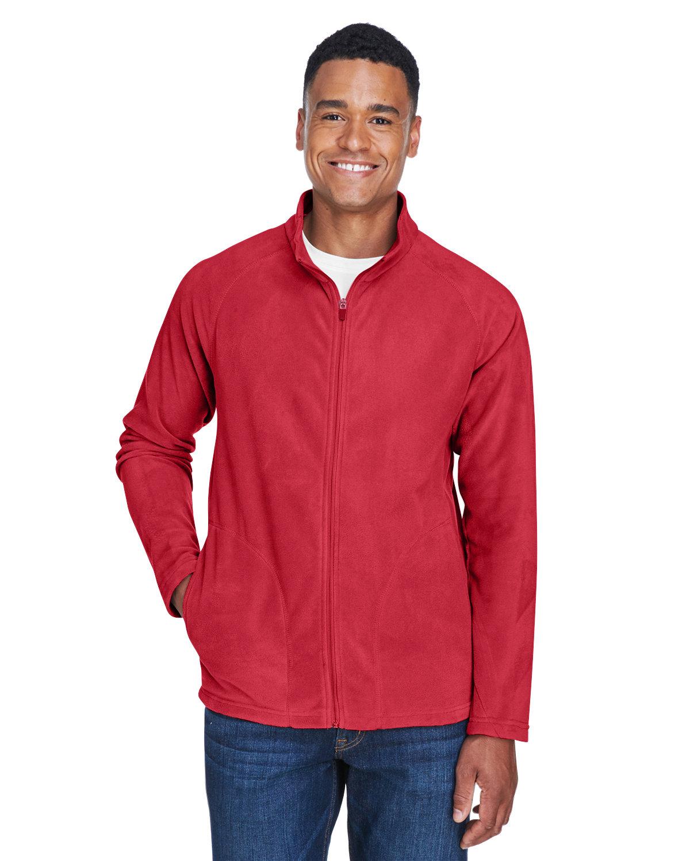 Team 365 Men's Campus Microfleece Jacket SPORT RED