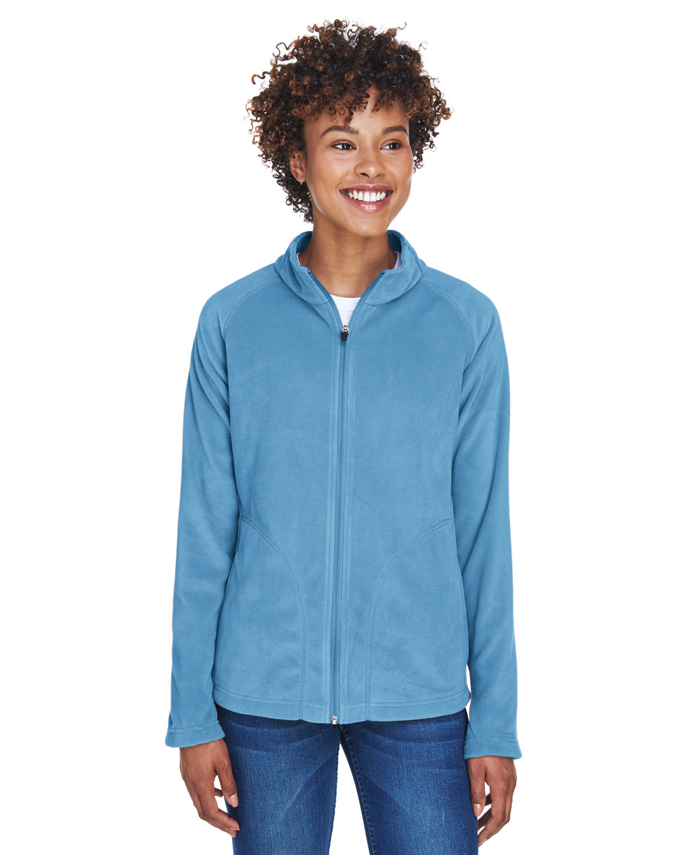 Team 365 Ladies' Campus Microfleece Jacket SPORT LIGHT BLUE