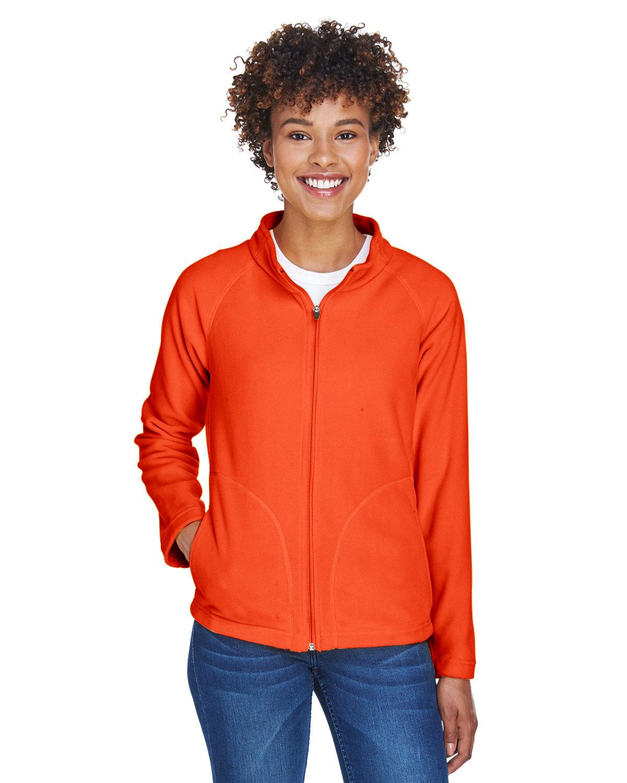 Team 365 Ladies' Campus Microfleece Jacket SPORT ORANGE