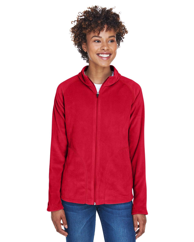 Team 365 Ladies' Campus Microfleece Jacket SPORT RED