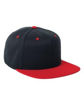 Flexfit Adult Wool Blend Snapback Two-Tone Cap