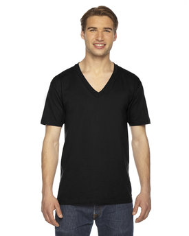 American Apparel Unisex Fine Jersey Short-Sleeve V-Neck T-Shirt