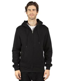 Threadfast Unisex Ultimate Fleece Full-Zip Hooded Sweatshirt