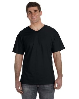 Fruit of the Loom Adult HD Cotton™ V-Neck T-Shirt