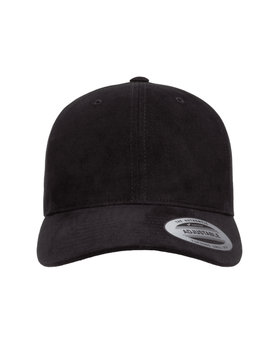 Yupoong Adult Brushed Cotton Twill Mid-Profile Cap