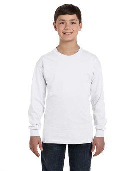 Gildan Youth Heavy Cotton™ Long-Sleeve T-Shirt