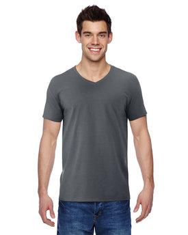Fruit of the Loom Adult Sofspun® Jersey V-Neck T-Shirt