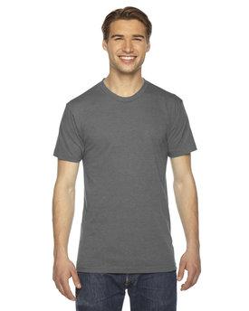 American Apparel Unisex Triblend Short-Sleeve Track T-Shirt