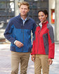 North End Men's Compass Colorblock Three-Layer Fleece Bonded Soft Shell Jacket  Lifestyle
