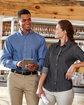 Harriton Men's 6.5 oz. Long-Sleeve Denim Shirt  Lifestyle